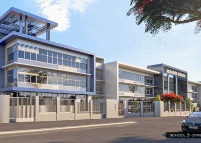 SCHOOL 3 STREET SHOT